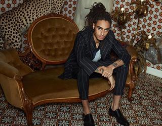 Men's formal wear street style FS magazine photoshoot ()