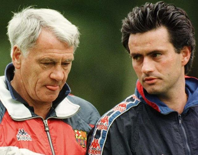 Bobby Robson and Jose Mourinho at Porto ()