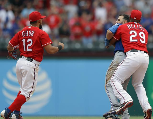 Rougned Odor fight (Getty)
