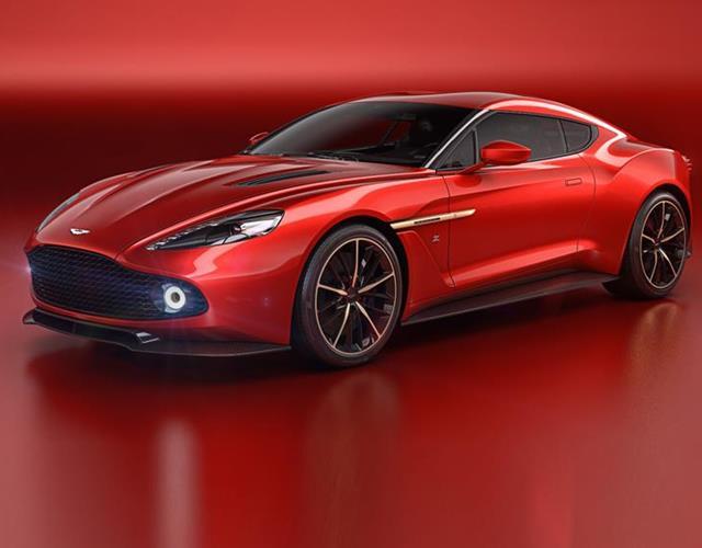 Aston Martin Vanquish Zagato concept front 3/4 ()