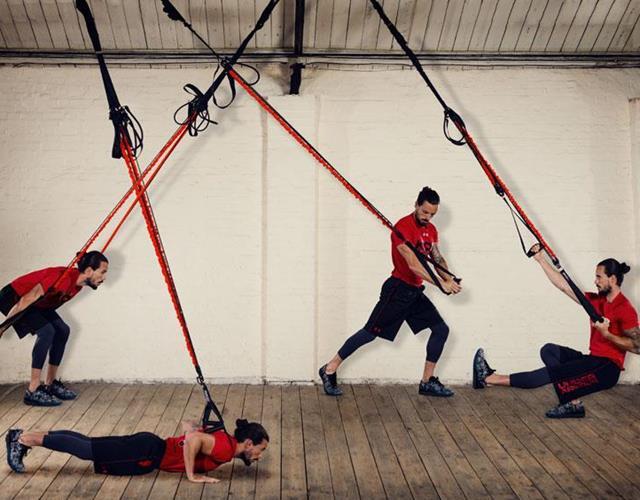 Kieran Owens KO8 suspension trainer exercises ()