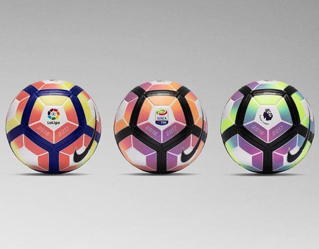 Nike Ordem 4 Premier League, La Liga, Serie A ball 2016-2017  ()