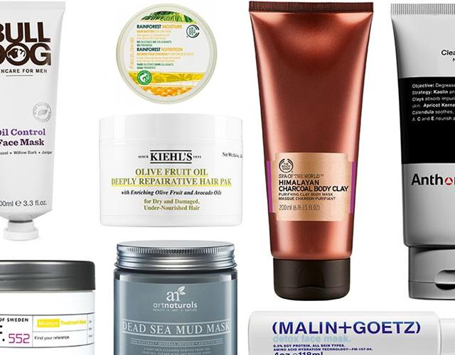 Face, hair and body masks ()