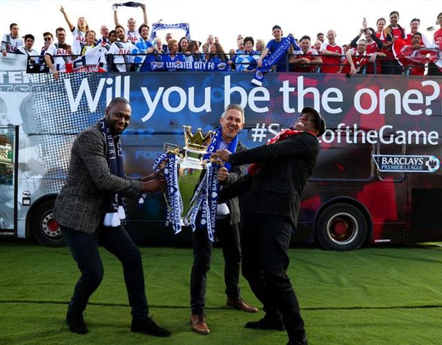 Ian Wright, Gary Lineker and Ledley King launch Spirit of the Game competition ()