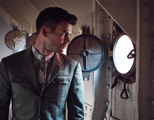 James Anderson fashion shoot with FS magazine ()