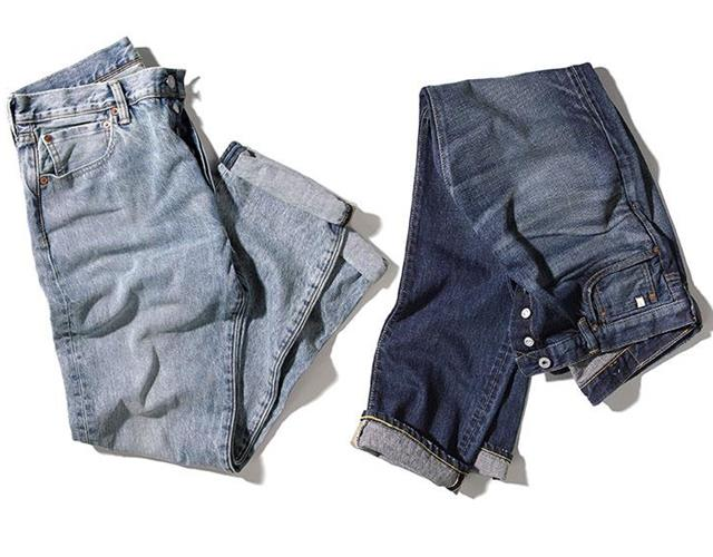 Men's jeans Edwin's and Levi's ()