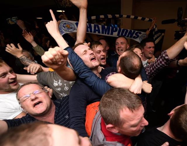 Leicester City Fans react ()