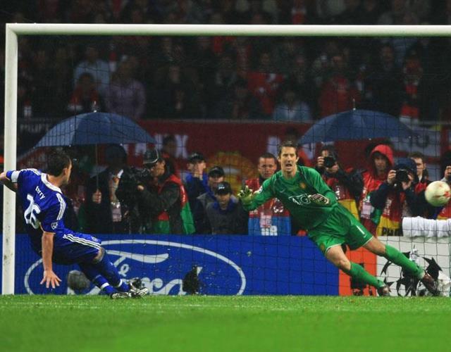 John Terry penalty miss ()