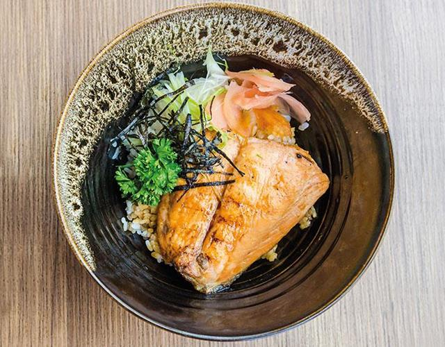 Teriyaki Salmon ()