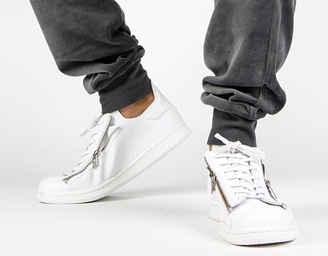 Stan Smith zip trainers Y-3 at Flannels (Hamish Stephenson)