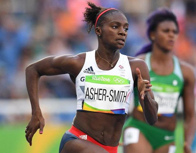 Dina Asher-Smith Rio 2016 ()