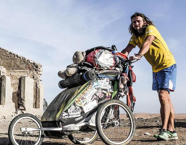 Jamie Ramsay 472-day marathon ()