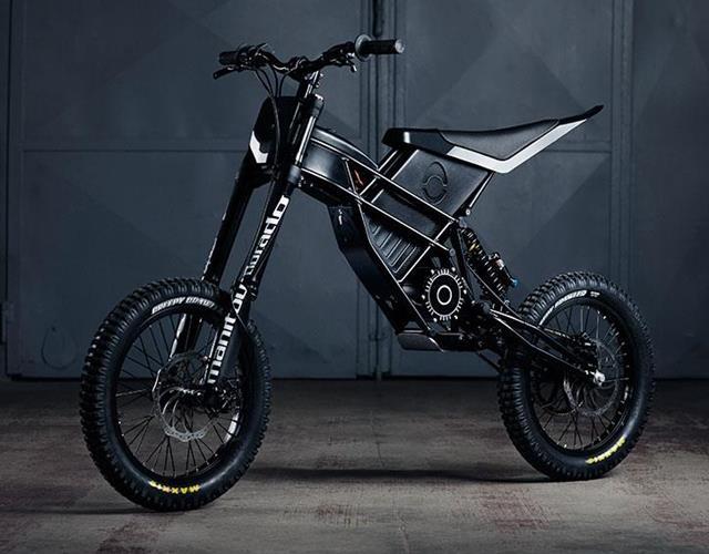 Kuberg freerider electric dirtbike ()