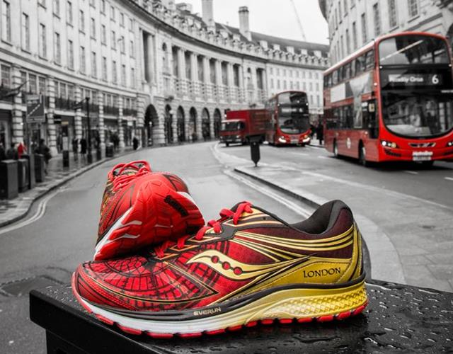 Saucony Guide 9 London Marathon trainer ()