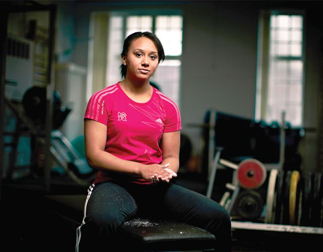 Zoe Smith Olympic Weightlifter ()