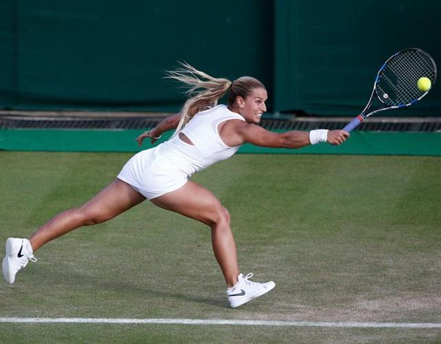 Eugenie Bouchard Wimbledon 2016 ()