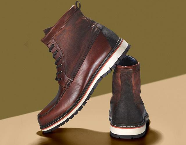Worker boot brown and orange Dune FS magazine ()