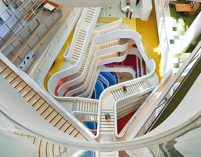 Medibank stair case ()