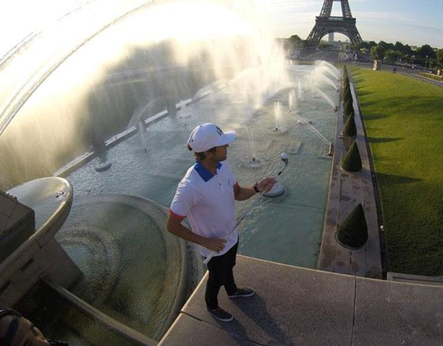 Romain Bechu Paris Golf tricks ()