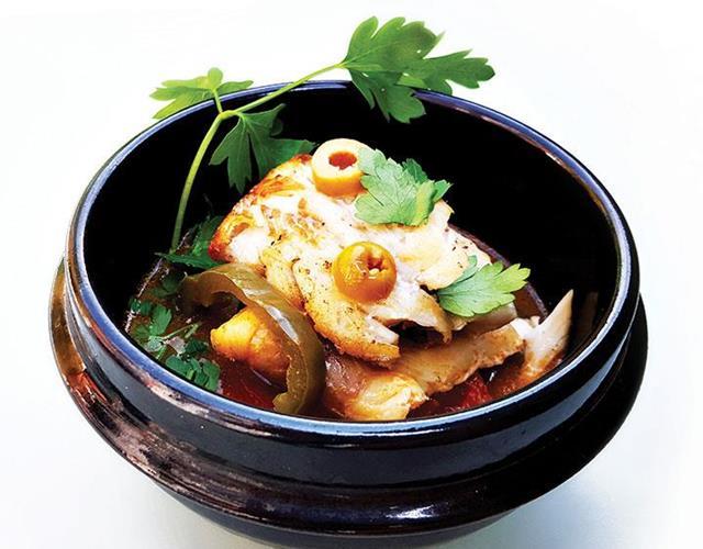 One-pot fish stew ()