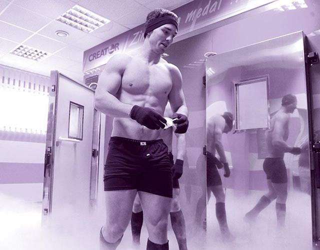 George North pre-match warm-up  ()