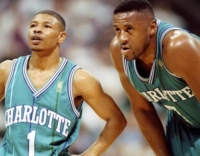 Muggsy Bogues in the NBA (Getty)