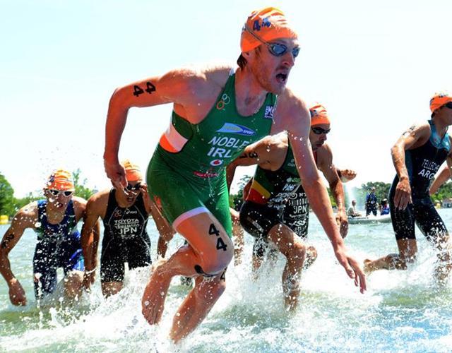 Triathlon swimming ()