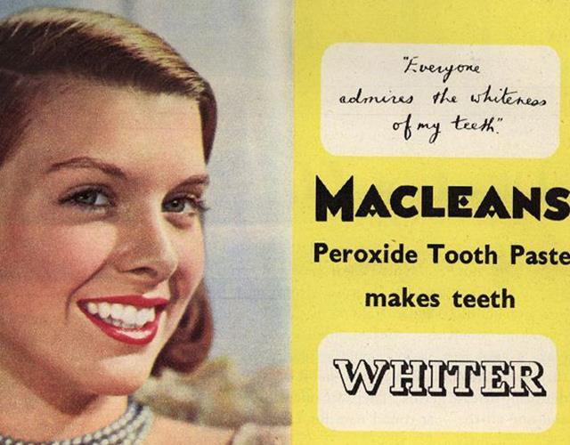 1951 macleans whitening advert ()