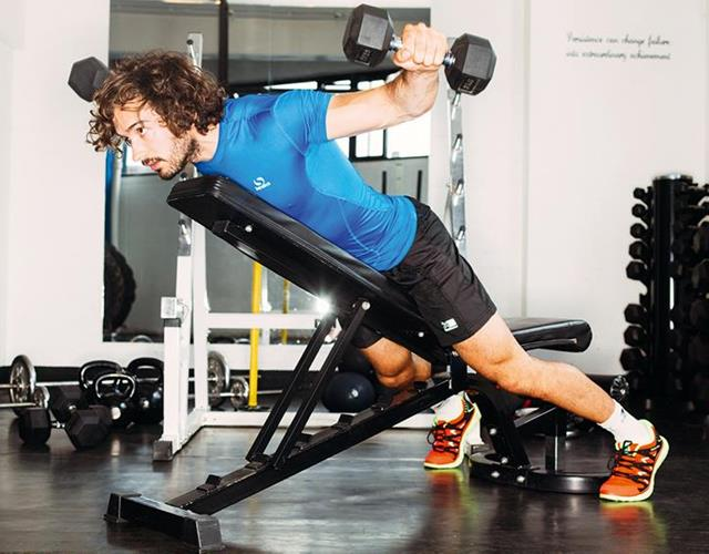 Joe Wicks reverse fly workout ()