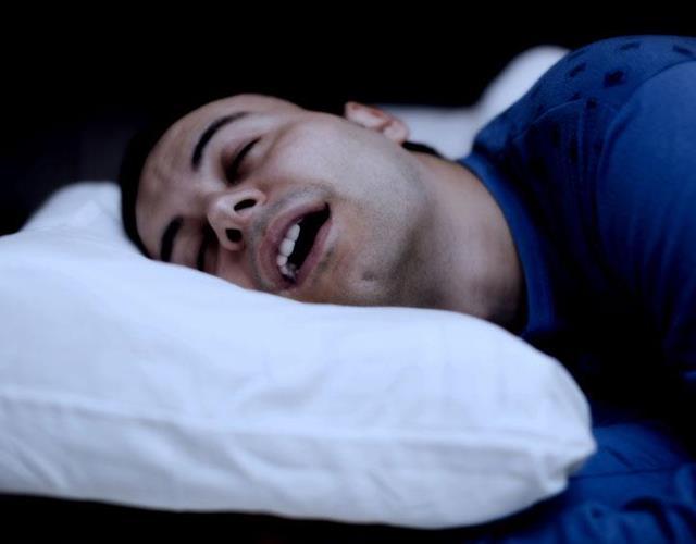 man snoring ()