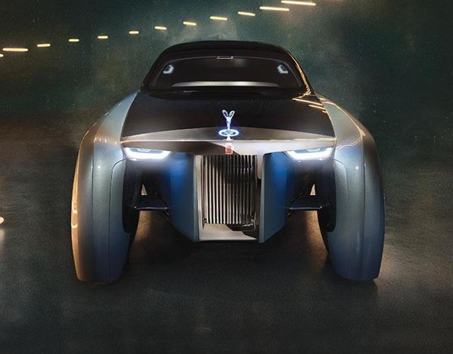 Rolls Royce Project 103EX driverless ()