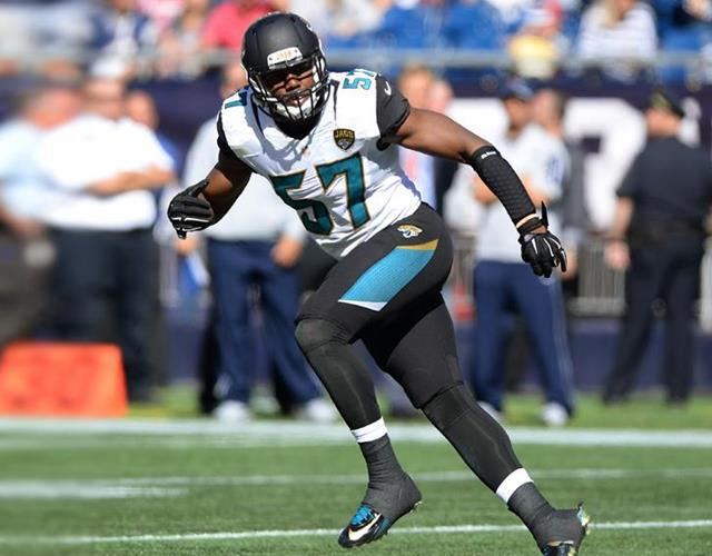 Thurston Armbrister Jacksonville Jaguars (Press Association)