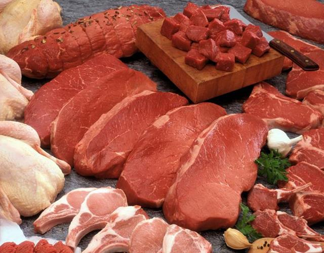 Raw meat selection  ()