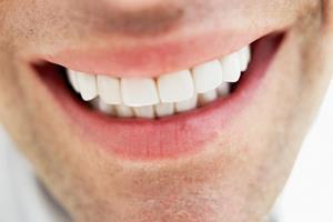 Man's smile ()