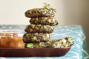 Quinoa and sweet potato burgers ()