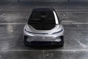 Faraday Future FF 91 front view ()
