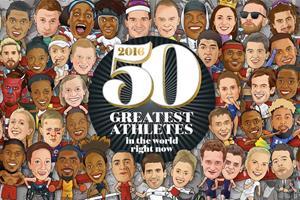 FS magazine's 50 greatest atheletes 2016 ()