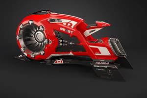 The Beast hoverbike ()