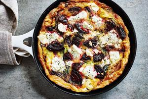 Beetroot and Feta Frittata recipe by Clean Eating Alice ()