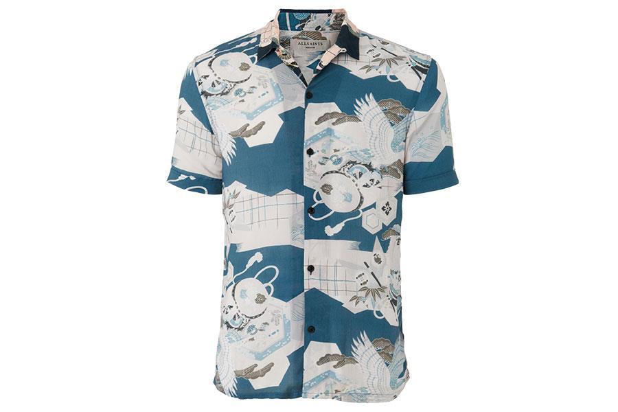 Kahana Hawaiian shirt All Saints ()