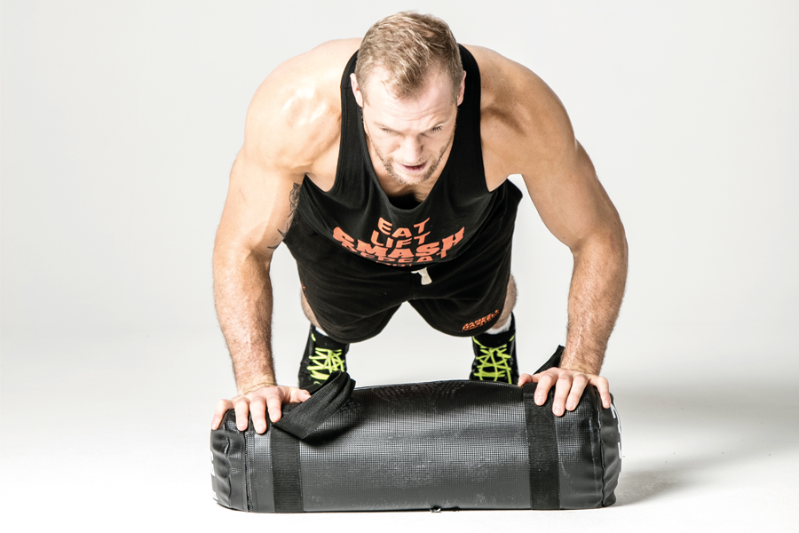 James Haskell workout 3 ()