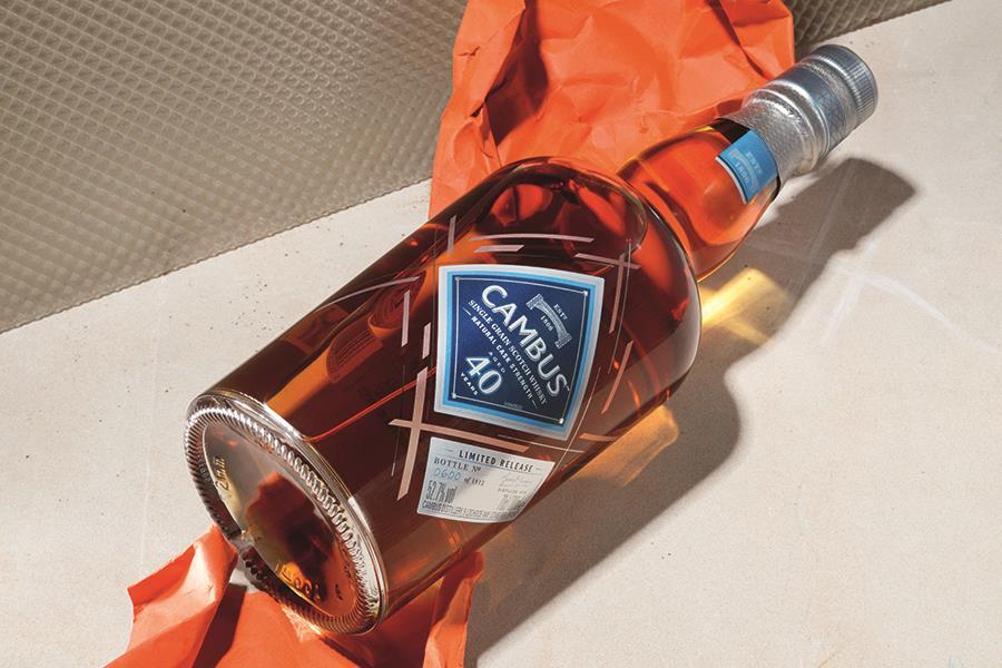 Cambus whiskey (PR shot)