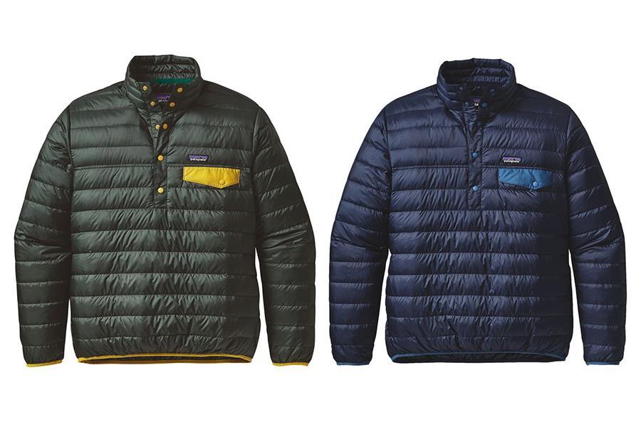 Patagonia snap pullover  (PR shot)