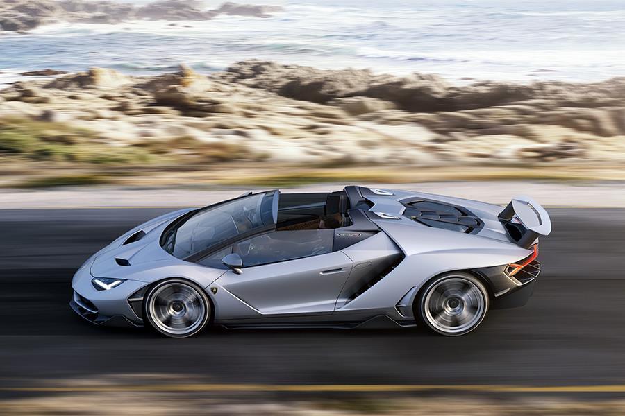 Lamborghini Centenario Roadster side profile  ()