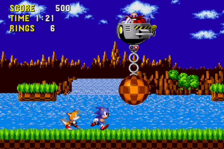 Sonic the Hedgehog emerald hill zone boss ()
