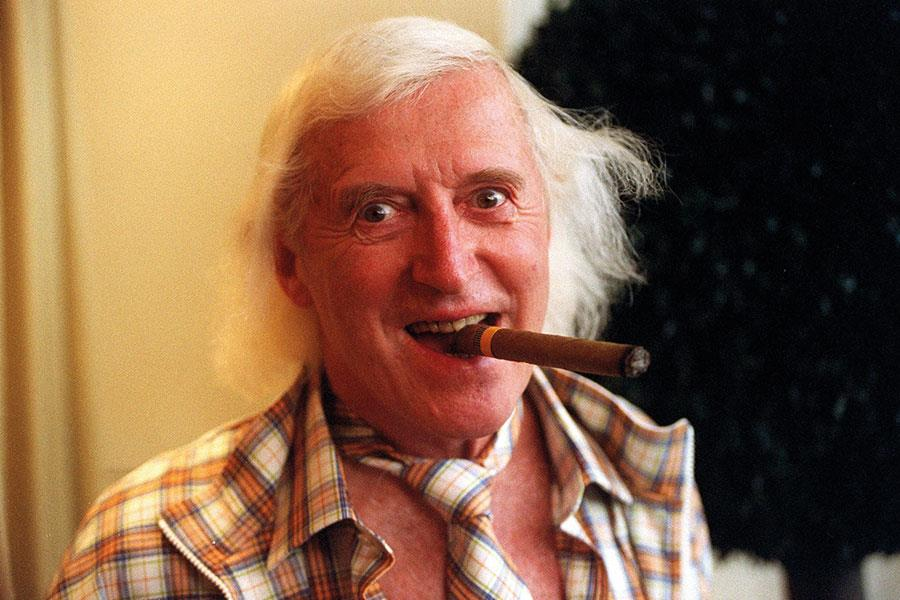 Jimmy Saville cigar Louis Theroux ()