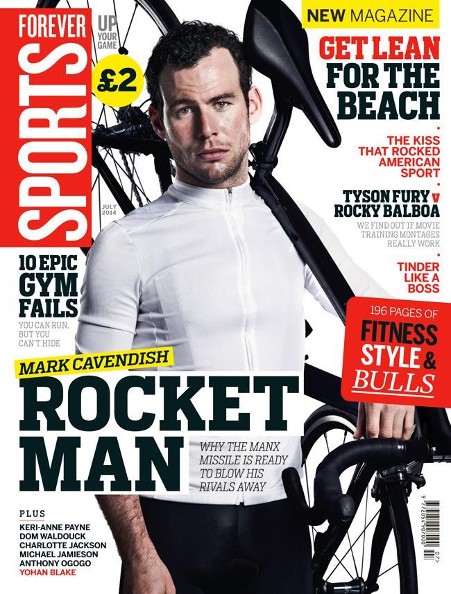 FS magazine cover July 2014 Mark Cavendish ()