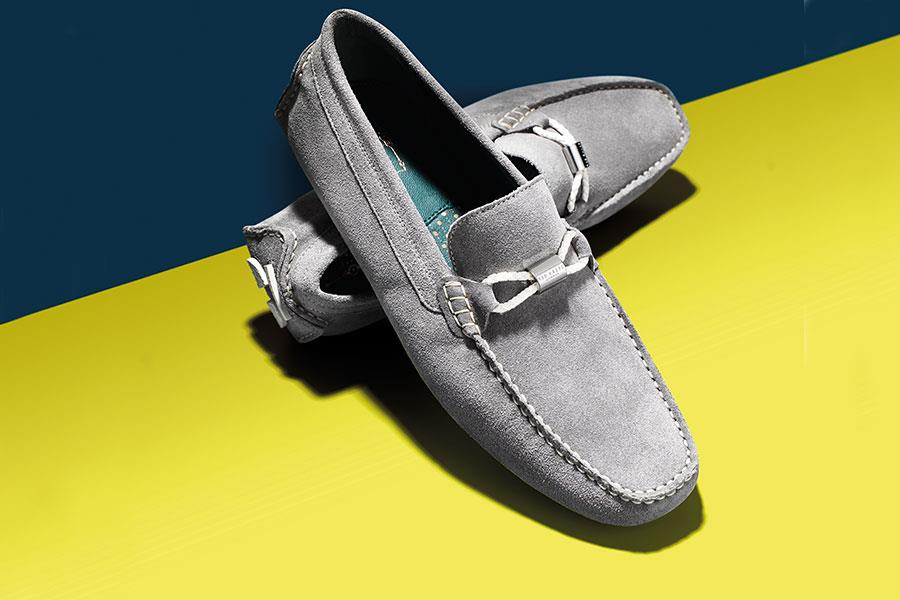 Ted Baker grey loafers ()