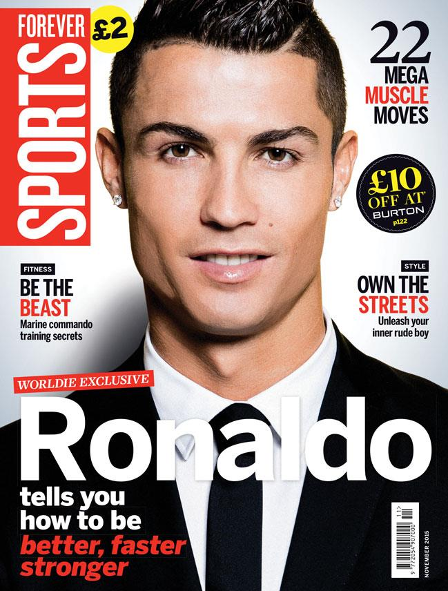 FS magazine cover November 2015 Cristiano Ronaldo ()