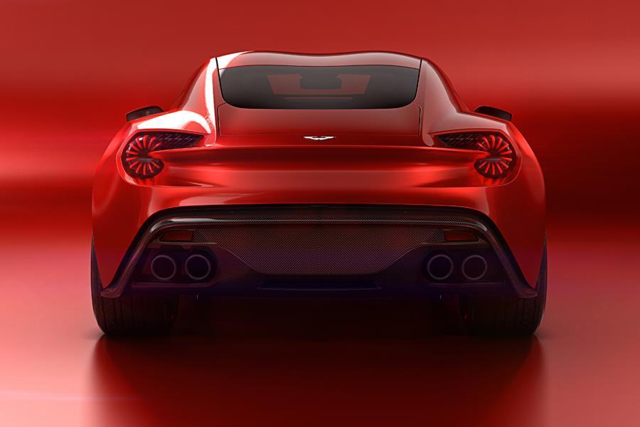 Aston Martin Vanquish Zagato concept rear ()